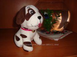 Собака, пес, мягкая детская игрушка.