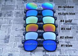 Зеркальные очки Ray Ban wayfarer. В наличии все цвета Окуляри 2015 79fb672ca6c0d