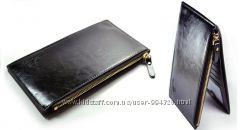 Оригинальное мужское портмоне бумажник натур. кожа кошелек  Гаманець