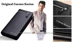 Стильный мужской бумажник Curewe Kerien клатч мужское авто портмоне