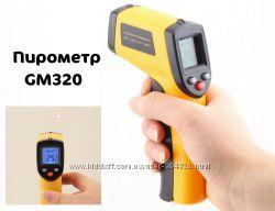 Пирометр GM320 инфракрасный ик бесконтактный лазерный термометр ЖК