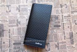 Кожаный мужской кошелек портмоне Baellerry бумажник клатч гаманець