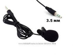 Проводной нагрудный петличный микрофон петля 3. 5 мм для смартфона петличка