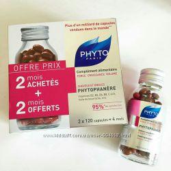 Витамины Phyto Phytophanere для волос и ногтей