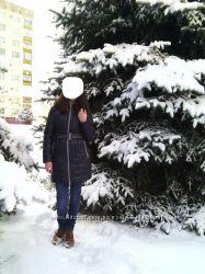 Пальто зимнее пуховик р. 44-46 M-L