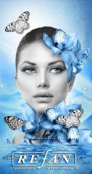 Уход за кожей лица от REFAN Стволовые клетки Гардении и Роза