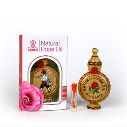 Болгарское натуральное розовое масло от компании LEMA