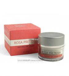 Роскошные крема для лица Rosa Pretiosa с болгарским розовым маслом