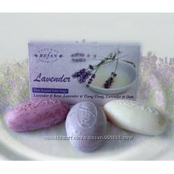 Набор 3 мыла Лаванда от болгарской косметики Refan под заказ