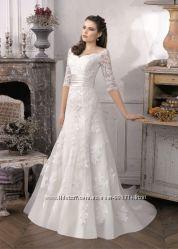 Новое свадебное платье Французское, оригинал.