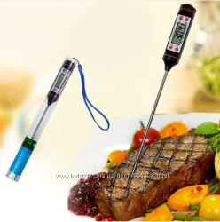 Термометр для кухни электронный. Градусник со щупом цифровой по Украине