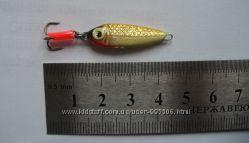 Блесна отвесная зимняя Рыбка 5г.  45 мм.