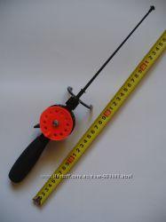 Удочка зимняя Adams FR-2000 длинная рукоять оранжевая