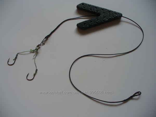 Оснастка карповая Ласточкин хвост на лидкоре, 60 г