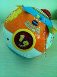 Музыкальный развивающий мяч шар Vtech