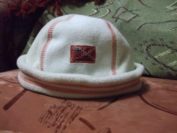 Флисовая шапочка шапка деми ТМ Chicco Чикко, чико на ОГ 46 см