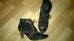 Кожаные ботиночки 41 р.