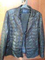 Куртка-плащ  с теплым воротником