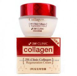 Крем с морским коллагеном от 3W clinic collagen regeneration cream