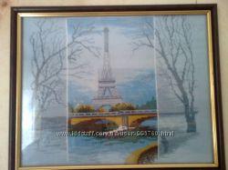 Париж крестиком