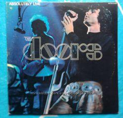Фирменный винил, оригинал США  Doors The - Absolutely Live 2LP