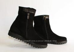 Ботинки. натуральная кожа, замш