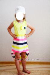 Модное легкое платьице 4, 5, 6, 7, 8 лет