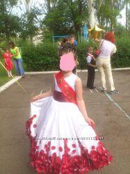 бальное платье на выпускной или торжество
