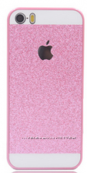 чехол для   iPhone 5-5S с блестками