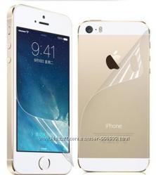 Двухсторонняя пленка на iPhone 5, 5s