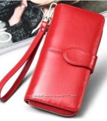 65331d089367 Стильный женский кошелек красного цвета, 390 грн. Женские кошельки ...