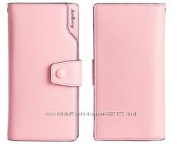 472b15e37c40 Розовый кожаный кошелек клатч Baellerry в наличии, 410 грн. Женские ...