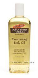 Palmers Увлажняющее масло для тела с какао и витамином Е.