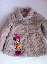 Демисезонная  куртка  George c Минни Маус размер 3-4года 98-104см, отличная