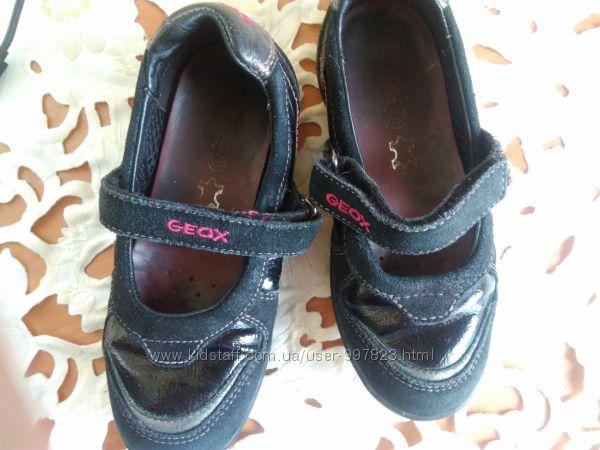 Туфли мокасины , фирменные GEOX