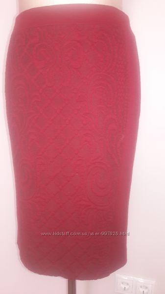 Трикотажная демисезонная юбка фирмы MEXX на подкладке