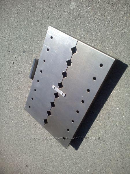 складной мангал  чемодан на 8 шампуроввидео