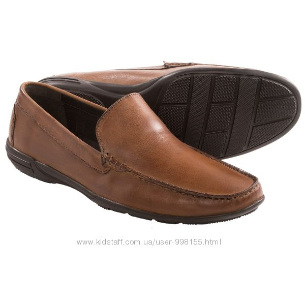Мужские мокасины Bostonian Clarks Folley Stride Shoes