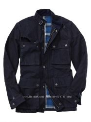 Мужскиа куртка GAP 1969 indigo denim moto jacket