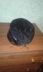 зимняя теплая  шляпа