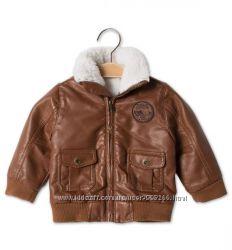 Супер стильная курточка-авиатор, р 74, комбез в подарок
