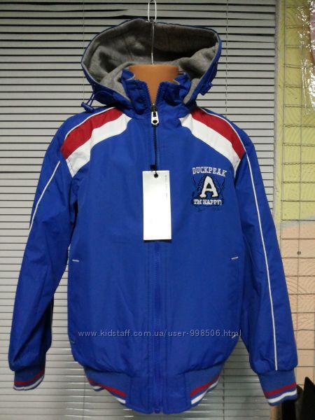 Двостороння курточка на 134, 158 см