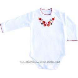 Боді-вишиванки для дівчаток 62-92 см 4557580f932c9
