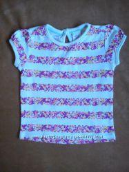 Новая футболка baby club, c&a, размер 74
