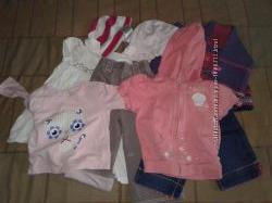 Пакет одягу на дівчинку 12-18 міс