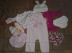 Пакет одягу на дівчинку 3-6 місяців