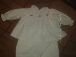 Комплект на літо,  костюм на 9-12 місяців,  дівчинка