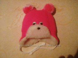 Шапочка для малышей Мишка