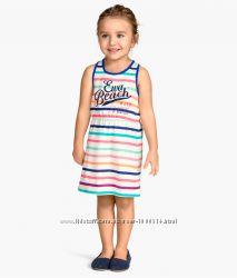 396dada3d93 Красивые летние платьица H M на девочек