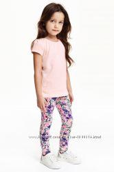 Цветочные треггинсы H&M
